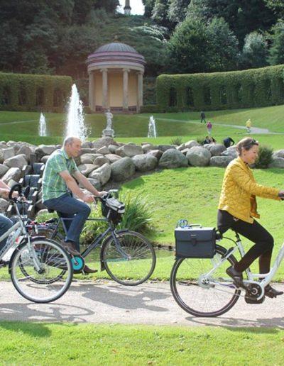 Kleve-Radfahrer-Amphitheater