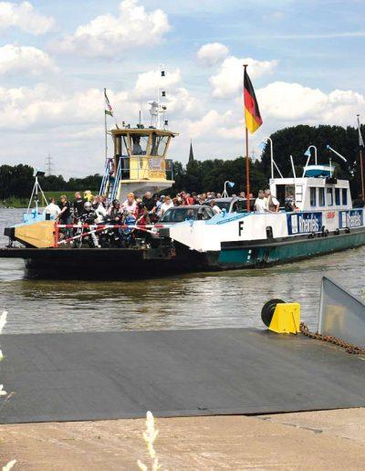 Rheinberg Rheinfähre